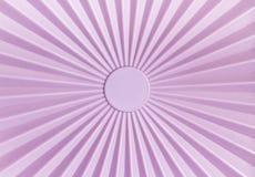 Muster von rosa Plastik-tupperware stockfoto