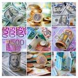 Muster von 5000 Rubeln Rechnungen Stockfoto