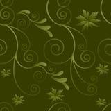 Muster von Stämmen und von Blättern Lizenzfreie Stockfotografie