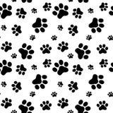 Muster von Tiertatzen Stockfoto