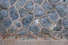 Muster von verzieren Steinwandbeschaffenheit Lizenzfreie Stockbilder
