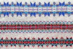 Muster von Winterkleidung Lizenzfreie Stockbilder