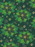 Muster-Weihnachtspapier Stockfotos