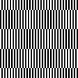 Muster-Zusammenfassung backg des geometrischen Schwarzweiss-Streifens nahtloses Lizenzfreie Stockfotografie