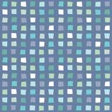 Musteraqua-Blaumarine des nahtlosen Hippies geometrische Lizenzfreies Stockfoto