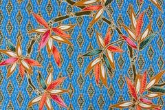 Musterbeschaffenheit der allgemeinen traditionellen siamesischen Art stockbild