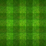 Musterbeschaffenheit des grünen Grases für Fußballplatzhintergrund Stockfoto