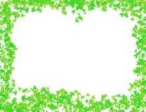 Musterbild-Grünrahmen für Dekoration Stockfoto