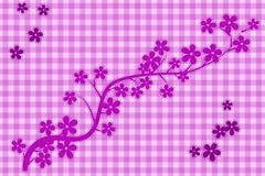 Musterblumen Stockbild