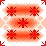 Musterblumen und -Rauten Stockbilder