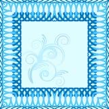 Musterblumenmuster für Text Lizenzfreies Stockbild