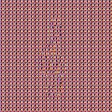 Musterc$g-notenschlüssel Stereogramm stockfotos