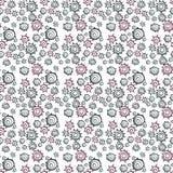 Musterelemente von abstrakten Formen Stockbilder