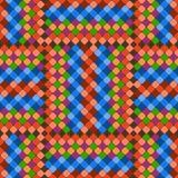 Musterfarbfliesen Stockbild