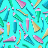 Musterfarbwunderliche Bleistifte ENV 10 Stockbilder