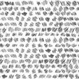 Musterhexen-Skizzenbeschaffenheit des Vektors nahtlose Stockfoto