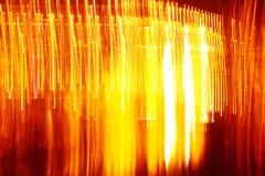 Musterhintergrund des roten und gelben Lichtes Lizenzfreies Stockfoto