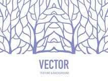 Musterhintergrundwurzel für Kunstwerk vektor abbildung