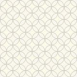 Musterkreis-Blumenhintergrund Klassischer Hintergrund Auch im corel abgehobenen Betrag Lizenzfreies Stockfoto