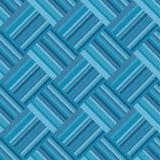 Mustermatte Marrs-Grüner Grenze blaue Farbmarinezusammenfassung vektor abbildung