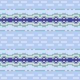 Musterpixel-Beschaffenheitsblau Stockfotos