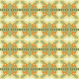 Musterpixel-Beschaffenheitsgelbgrün Lizenzfreie Stockfotos