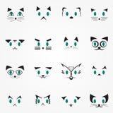 Mustert Katze vektor abbildung