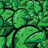 Mustervektorhintergrund-Kaktusfeigeabschluß der Kaktuskaktusbetriebsbeschaffenheit nahtloser oben Lizenzfreie Stockfotografie