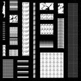 Musterverzierung Stockbild