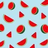 Musterwassermelone für den Druck des Produktes lizenzfreie abbildung