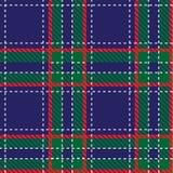 Musterzellgewebe Gewebebeschaffenheitsvektor Plaidgewebe Warmes Muster, Verzierung Kariertes britisches schottisches Gewebe Stockbild
