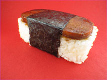 Musubi - de Verrassing van Sushi royalty-vrije stock fotografie