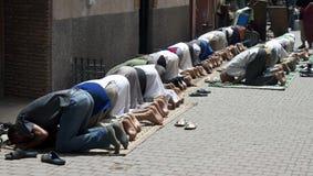 Musulmanes de rogación Foto de archivo libre de regalías
