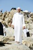 Musulmanes del jadye de Makkah Kaaba Imagenes de archivo