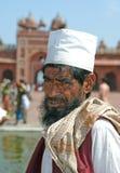 Musulmanes en Jama Masjid en Fatehpur Sikri Imagenes de archivo