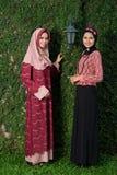 Musulmanes en la moda Foto de archivo
