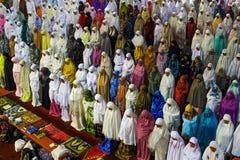Musulmanes que ruegan Fotos de archivo libres de regalías