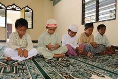 Musulmani, preganti fotografie stock libere da diritti