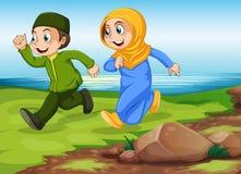 musulmans illustration stock