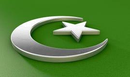 Musulmans Crescent Moon And Star illustration libre de droits