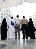 Musulmans de hadj de Makkah Kaaba photos stock