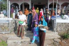 Musulmans indonésiens célébrant l'UL-Fitr d'Eid photo libre de droits