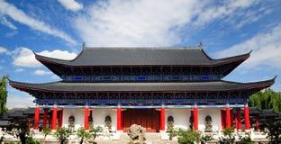 Muswoonplaats, de oude stad van Lijiang, Yunnan, China Stock Foto's