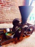 Musztarda oleju maszynowa ekstrakcja obraz royalty free