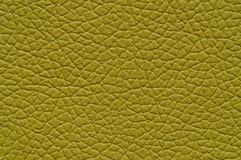Musztardy żółta sztuczna skóra z wielką teksturą zdjęcia royalty free