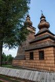 Muszyna park w Polska i kasztel Obraz Royalty Free