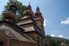Muszynakasteel en Park in Polen Stock Afbeelding