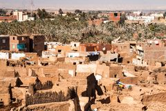Mut老镇dakhla的 图库摄影