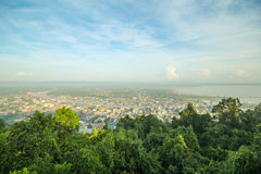 Mut Sea Mountain Viewpoint Chumphon Thailand Royalty Free Stock Image