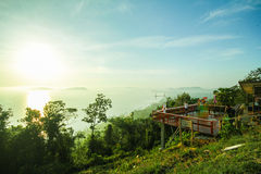 Mut Sea Mountain Viewpoint Chumphon Thailand Stock Photos